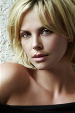 Preview iPhone wallpaper Charlize Theron 06