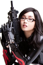 Preview iPhone wallpaper Cosplay girl, Alodia Gosiengfiao 01