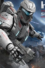 Preview iPhone wallpaper Halo: Spartan Assault