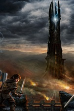 Preview iPhone wallpaper Lord of the Rings Online: Rise of Isengard