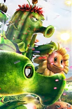 Preview iPhone wallpaper Plants vs Zombies 2