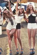 Vorschau des iPhone Hintergrundbilder SISTAR, vier koreanische Musik Mädchen