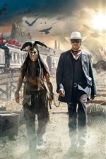 Preview iPhone wallpaper The Lone Ranger 2013 HD