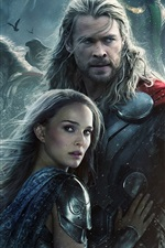 Preview iPhone wallpaper 2013 Thor: The Dark World