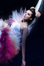 Bailarina menina bonita