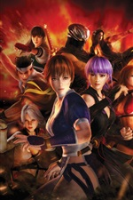 Preview iPhone wallpaper Dead or Alive 5, DOA 5, PC game