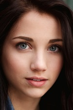 Preview iPhone wallpaper Emily Rudd 01