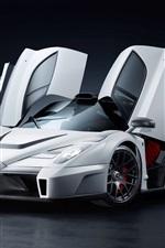 iPhone обои Ferrari Enzo Gemballa MIG-U1 суперкар