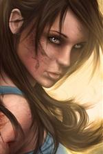 Preview iPhone wallpaper Tomb Raider, Lara Croft, 2013 game