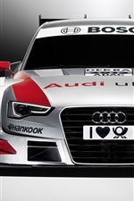 Preview iPhone wallpaper Audi DTM supercar 2012