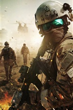 Preview iPhone wallpaper Ghost Recon: Future Soldier, Tom Clancy's software