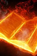 Abstract design, livro fogo ardente