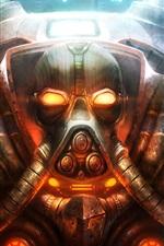 Art fotos, StarCraft II, guerreiro, armadura, armas