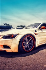 Preview iPhone wallpaper BMW E92 M3 supercar