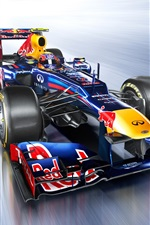 Preview iPhone wallpaper Formula 1, F1 race car speed