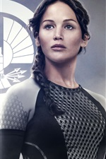 Preview iPhone wallpaper Jennifer Lawrence in The Hunger Games: Catching Fire