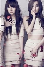 미리보기 iPhone 배경 화면 한국 음악 소녀, 미쓰에이 (miss A) 01
