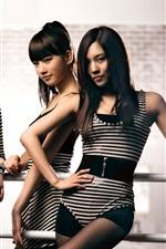 Preview iPhone wallpaper Korea music girls, miss A 02
