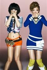 미리보기 iPhone 배경 화면 한국 음악 소녀,미쓰에이 (miss A) 03