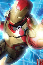 Preview iPhone wallpaper Marvel movie, Iron Man 3
