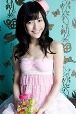 Preview iPhone wallpaper Mayu Watanabe 02