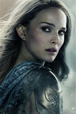 Preview iPhone wallpaper Natalie Portman in Thor: The Dark World