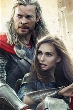 Preview iPhone wallpaper Thor: The Dark World, 2013 movie widescreen