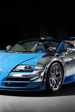 2013 Bugatti Veyron 16.4 blue supercar