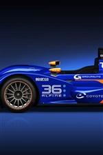Alpine Nissan N 36 blue F1 car