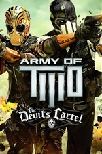 Preview iPhone wallpaper Army of Two: The Devil's Cartel