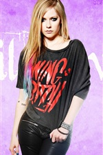 Preview iPhone wallpaper Avril Lavigne 47