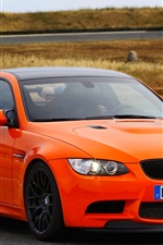 BMW M3 GTS orange car