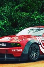 미리보기 iPhone 배경 화면 포드 머스탱 자동차 경주