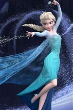 Congelado, linda menina Elsa