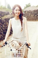 Preview iPhone wallpaper Korea, Girls Generation, Yoona 02