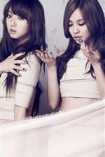 미리보기 iPhone 배경 화면 한국 음악 소녀,미쓰에이 (miss A) 05
