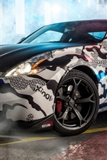 Nissan 370Z supercar Gumball 3000 Rally