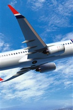 Preview iPhone wallpaper Norwegian Air, Boeing 737 Airplane