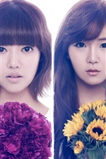 Preview iPhone wallpaper Rainbow Korean music girls 03