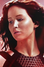 Vorschau des iPhone Hintergrundbilder The Hunger Games: Catching Fire, Jennifer Lawrence