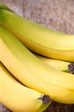 Preview iPhone wallpaper Yellow fruit, banana
