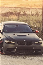 Preview iPhone wallpaper BMW M3 Z4, white and black car