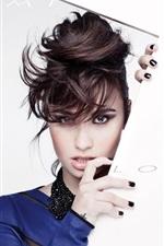 미리보기 iPhone 배경 화면 데미 Lovato은 04