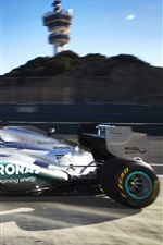 Preview iPhone wallpaper Formula 1, F1, Mercedes-Benz race car