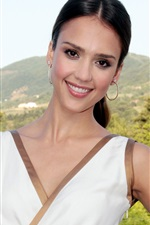 Preview iPhone wallpaper Jessica Alba 20