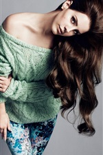 Preview iPhone wallpaper Lana Del Rey 03