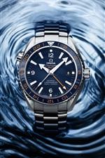 Relógios, Omega, Seamaster de 2013, água azul