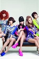 iPhone обои 4Minute Корея музыкальные девушки