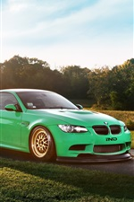 BMW M3 Coupe, Green Hell, S65 E92 supercar