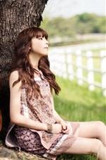 Preview iPhone wallpaper Choi Jun Hee 03